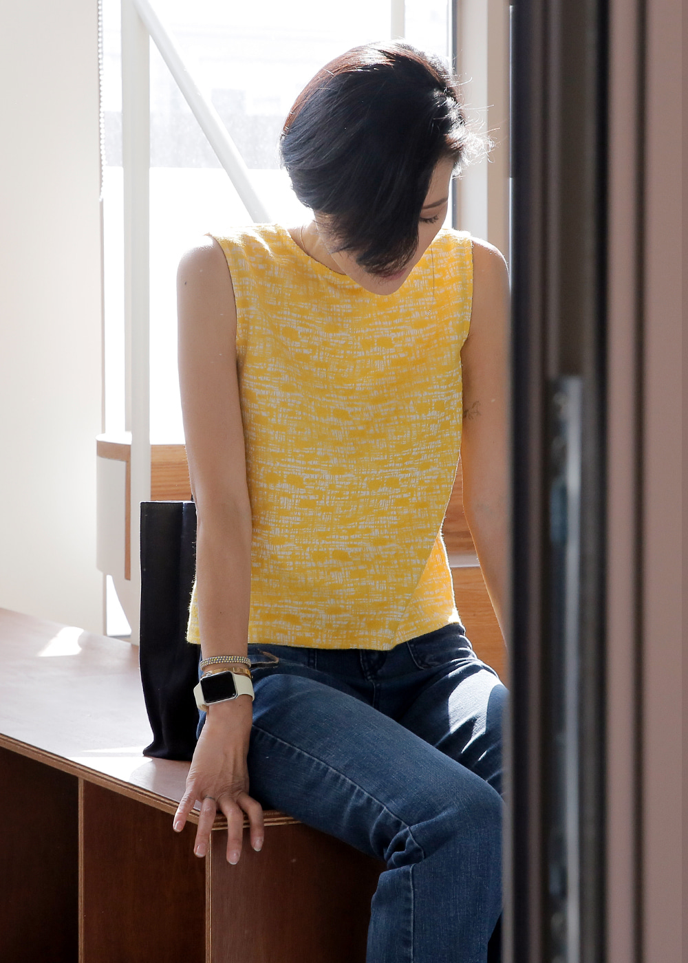 Not So Basic Sleeveless Tuscany Yellow