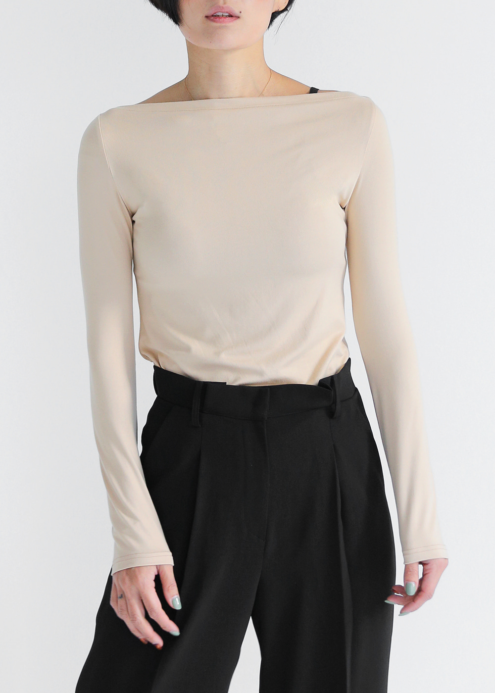 Simply Boat Neck Top