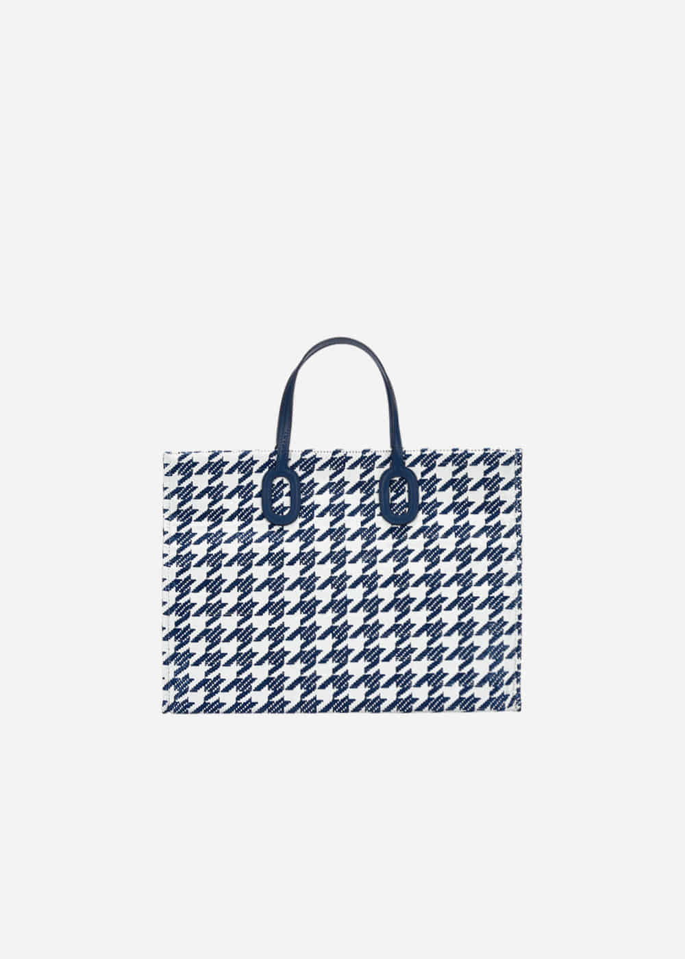 O Handle Houndstooth Navy