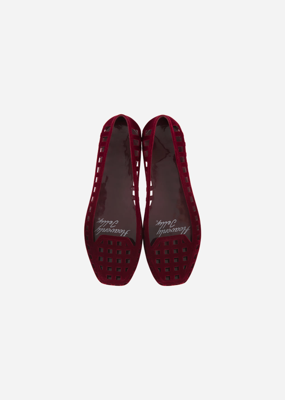[Heavenly Jelly] Classic Suede Burgundy