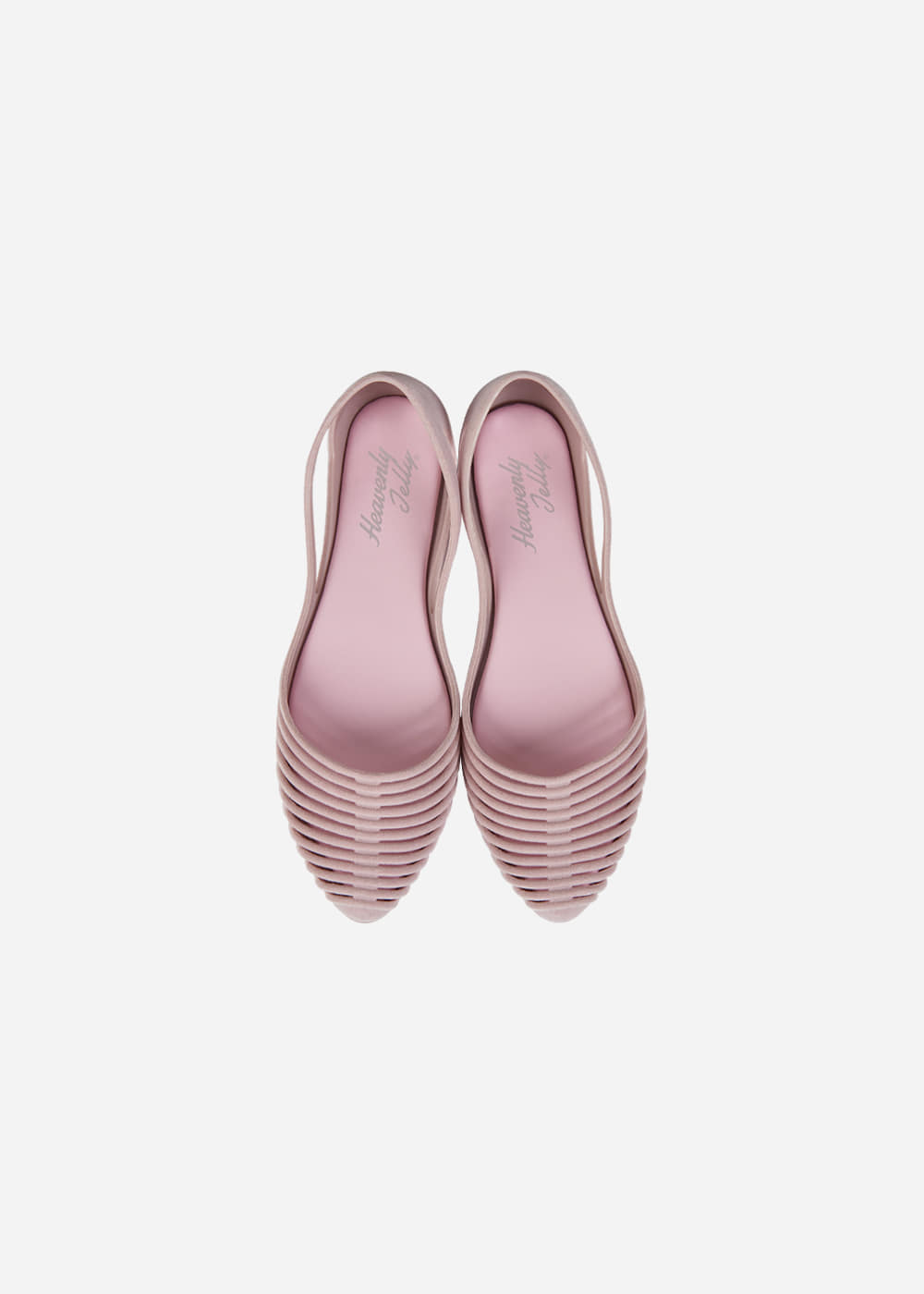[Heavenly Jelly] Grace Suede Dusky Pink