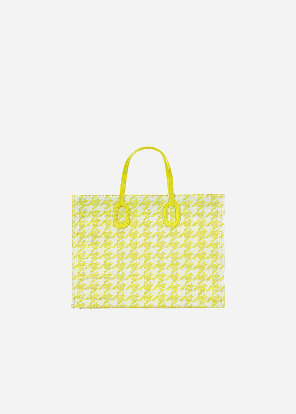 O Handle Houndstooth Neon